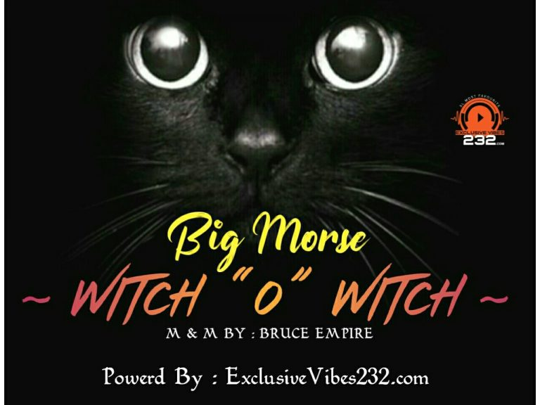 Big Morse_Witch O Witch ( Prod By : Bruce Empire )
