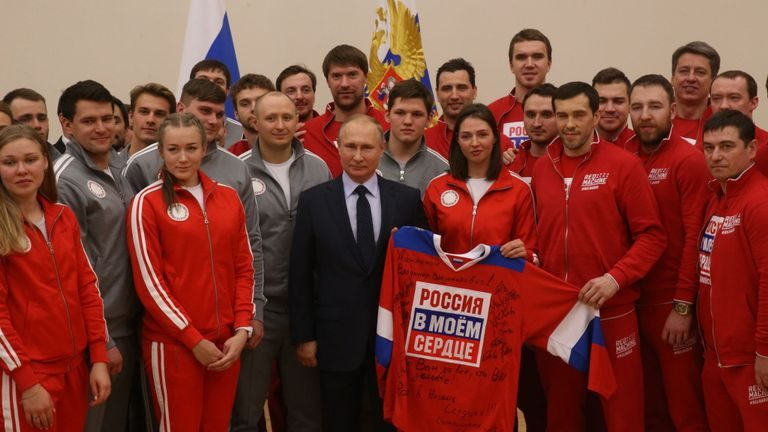 Official Russia banned from all global sport including 2020 OIympics and 2022 World Cup finals